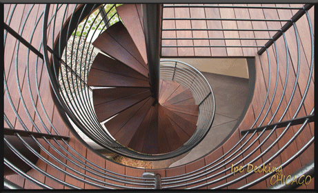 Ipe Deck Stairs in Chicago, IL